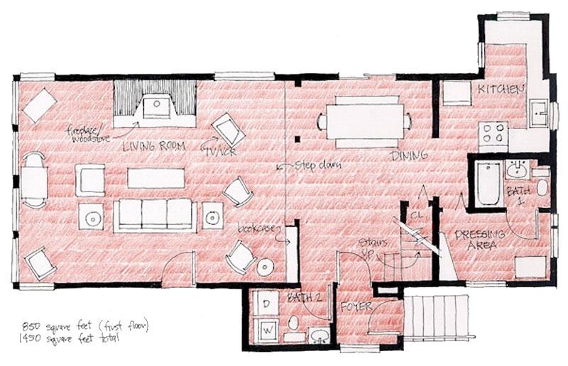 Camp Creek Floor Plan
